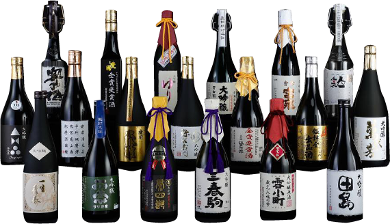 Japan's Number One SAKE FUKUSHIMA